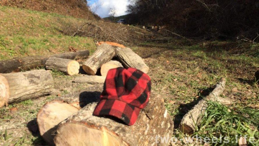 木こりをしていました